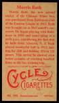 1912 T207 Reprints #149   Morris Rath Back Thumbnail
