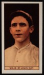 1912 T207 Reprints #189  Ernest 'Dewey' Wilie    Front Thumbnail