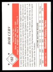 1979 TCMA The 50's #162   Bob Cerv Back Thumbnail