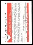 1979 TCMA The 50's #191  Duane Pillette  Back Thumbnail