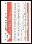 1979 TCMA The 50's #158  Johnny Logan  Back Thumbnail