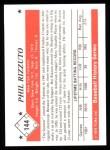 1979 TCMA The 50's #144   Phil Rizzuto Back Thumbnail