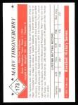1979 TCMA The 50's #173  Marv Throneberry  Back Thumbnail