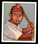 1950 Bowman Reprints #30  Eddie Waitkus  Front Thumbnail