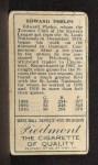 1911 T205 #158  Ed Phelps  Back Thumbnail
