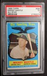 1959 Topps #564  All-Star  -  Mickey Mantle Front Thumbnail