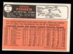 1966 Topps #85  Eddie Fisher  Back Thumbnail