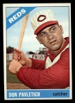 1966 Topps #196  Don Pavletich  Front Thumbnail