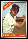 1966 Topps #138  Roger Repoz  Front Thumbnail