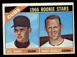 1966 Topps #392   -  Bill Hands / Randy Hundley Cubs Rookies Front Thumbnail