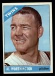 1966 #181  Al Worthington  Front Thumbnail