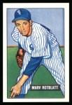 1951 Bowman Reprints #303  Marv Rotblatt  Front Thumbnail