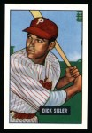 1951 Bowman Reprints #52  Dick Sisler  Front Thumbnail