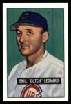 1951 Bowman Reprints #102  Dutch Leonard  Front Thumbnail