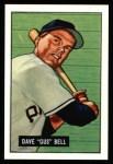 1951 Bowman Reprints #40  Gus Bell  Front Thumbnail