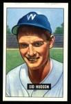 1951 Bowman Reprints #169  Sid Hudson  Front Thumbnail