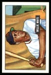 1951 Bowman Reprints #305   Willie Mays Front Thumbnail