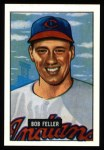 1951 Bowman Reprints #30  Bob Feller  Front Thumbnail