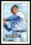 1951 Bowman Reprints #317   Smoky Burgess Front Thumbnail