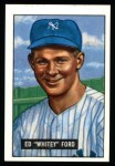 1951 Bowman Reprints #1  Whitey Ford  Front Thumbnail