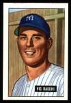 1951 Bowman Reprints #25  Vic Raschi  Front Thumbnail