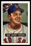 1951 Bowman Reprints #92  Junior Stephens  Front Thumbnail