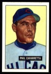 1951 Bowman Reprints #138   Phil Cavarretta Front Thumbnail