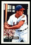 1951 Bowman Reprints #187  Al Rosen  Front Thumbnail