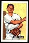 1951 Bowman Reprints #78  Early Wynn  Front Thumbnail