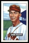 1951 Bowman Reprints #316   Duane Pillette Front Thumbnail
