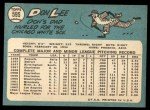 1965 Topps #595  Don Lee  Back Thumbnail
