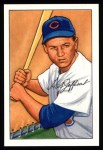 1952 Bowman Reprints #104  Hal Jeffcoat  Front Thumbnail