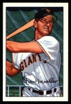 1952 Bowman Reprints #18   Don Mueller Front Thumbnail