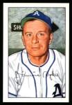 1952 Bowman Reprints #98  Jimmy Dykes  Front Thumbnail