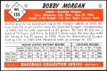 1953 Bowman Reprints #135   Bob Morgan Back Thumbnail