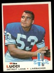1969 Topps #167  Mike Lucci  Front Thumbnail
