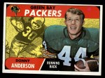 1968 Topps #209  Donny Anderson  Front Thumbnail