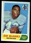 1968 Topps #120  Sid Blanks  Front Thumbnail