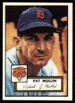 1952 Topps Reprints #275   Pat Mullin Front Thumbnail