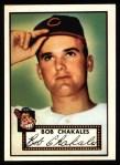 1952 Topps Reprints #120  Bob Chakales  Front Thumbnail