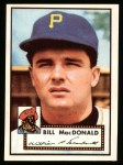 1952 Topps Reprints #138  Bill MacDonald  Front Thumbnail