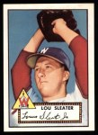 1952 Topps Reprints #306  Lou Sleater  Front Thumbnail