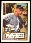 1952 Topps Reprints #373  Jim Turner  Front Thumbnail