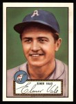 1952 Topps Reprints #34  Elmer Valo  Front Thumbnail