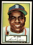 1952 Topps Reprints #27  Sam Jethroe  Front Thumbnail