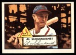 1952 Topps Reprints #91  Red Schoendienst  Front Thumbnail
