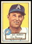 1952 Topps Reprints #299  Ray Murray  Front Thumbnail