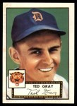 1952 Topps Reprints #86  Ted Gray  Front Thumbnail