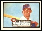 1952 Topps Reprints #328   Bob Borkowski Front Thumbnail