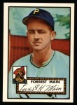 1952 Topps Reprints #397  Forrest Main  Front Thumbnail